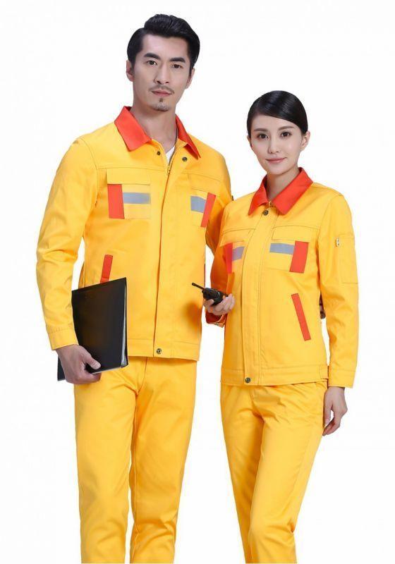 北京服装定制来告诉大家;工作服色彩的作用